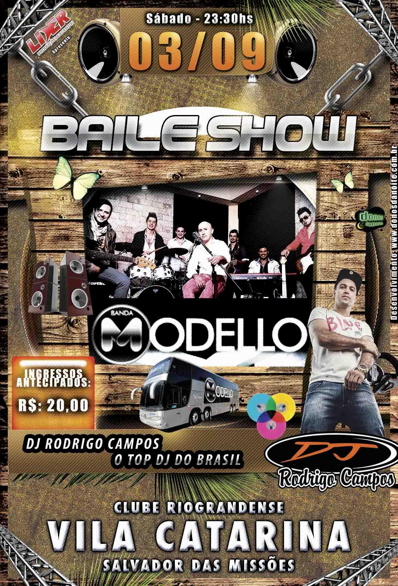 Baile Show Vila Catarina 03.09.2016